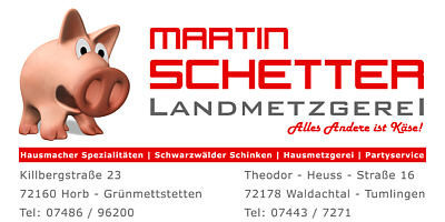Landmetzgerei Martin Schetter